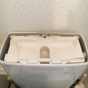 トイレの蓋開けた